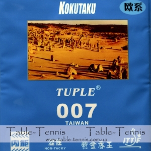 KOKUTAKU Tuple 007 Taiwan non-tacky Table Tennis Rubber