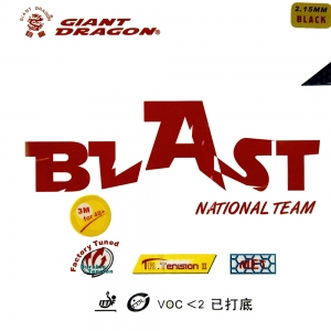 GIANT DRAGON Blast National - short pimples