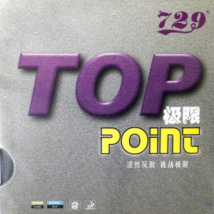 729 Friendship Top Point  - Table Tennis Rubber