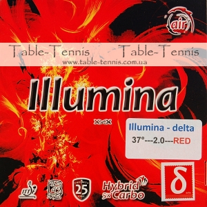 AIR Illumina Delta 37 Table Tennis Rubber