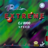 PALIO CJ8000 Extreme Speed - Table Tennis Rubber