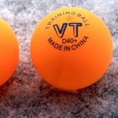 VT D40+ 1 star Plastic Training Balls orange (1 pcs.)