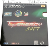 GIANT DRAGON  Top Energy Soft Table Tennis Rubber