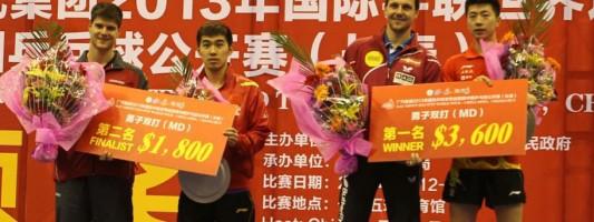 China Open 2013: результаты парных соревнований (видео)