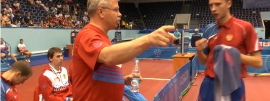 Соревнования по настольному теннису на Универсиаде 2013 в Казани (видео)