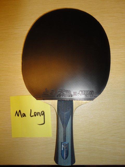 Ракетка Ма Лонга (форхенд)