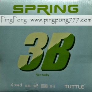 TUTTLE Spring 3B Non Tacky – Table Tennis Rubber