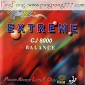 PALIO CJ8000 Extreme Balance – Table Tennis Rubber