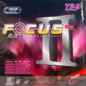 729 Focus II Table Tennis Rubber
