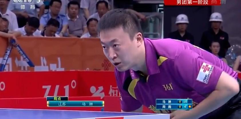 Китайская Суперлига 2013: Жан Жике проигрывает два очка в первом раунде (видео)