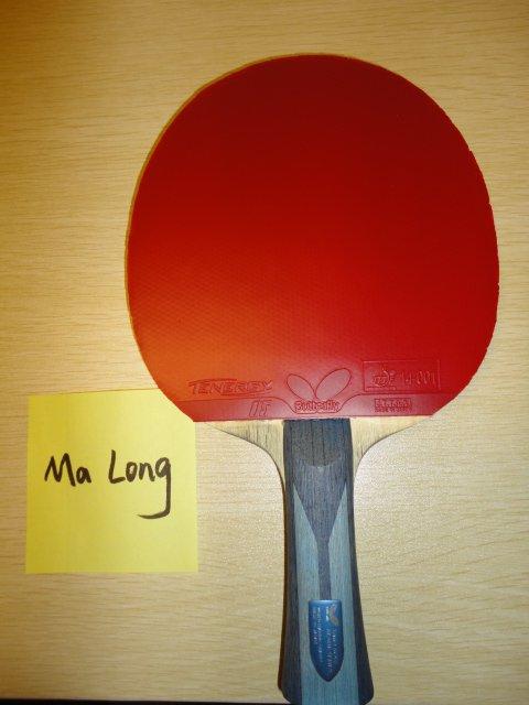 Ракетка Ма Лонга (бэкхенд)