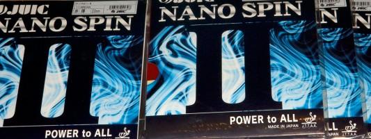 Juic Nano Spin II cамая долговечная накладка топ-уровня (Отзывы)