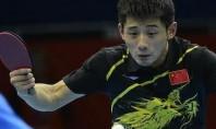Фан Жендонг выигрывает у Жан Жике в «Германия Опен»